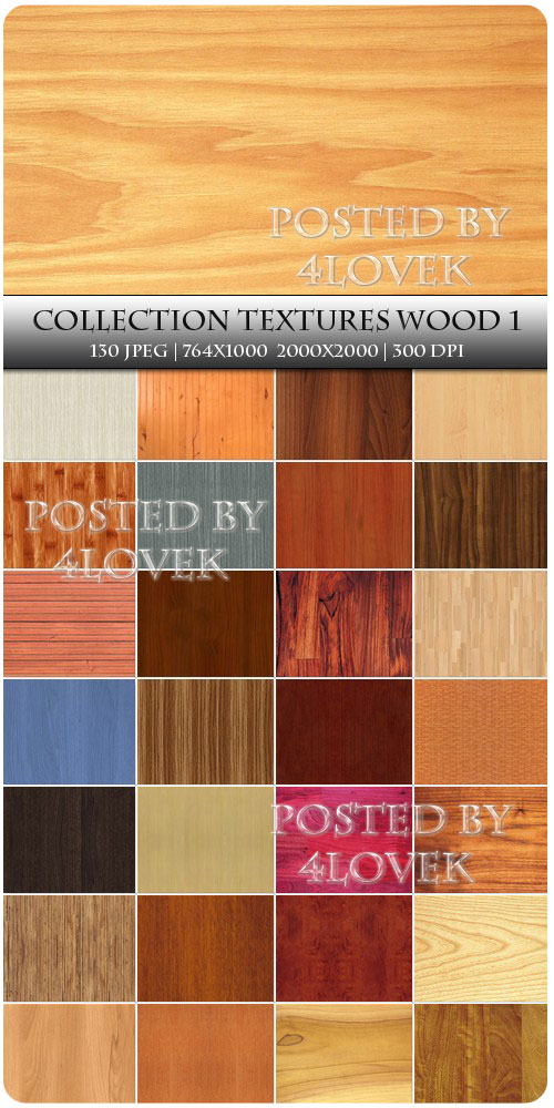 Collection Textures Wood 1