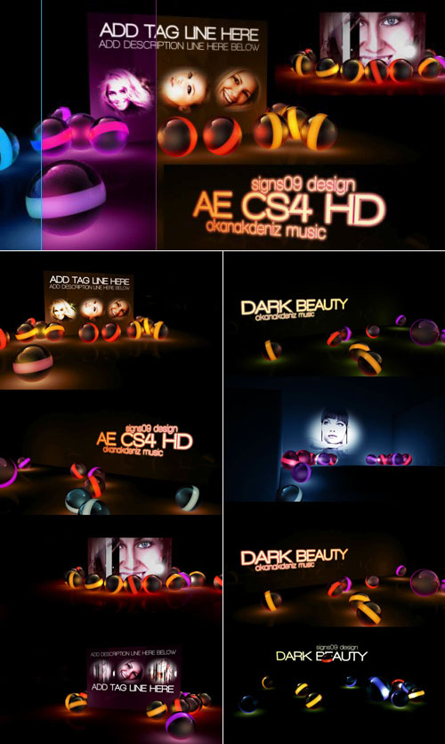 Videohive - Dark Beauty HD 165579 - Projects for After Effects