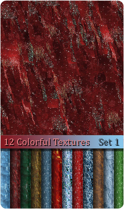 12 Colorful Textures