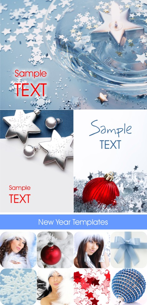 New Year Templates & Cliparts