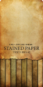 Stained Paper, Textures - Doors,Blue Jeans Texture!