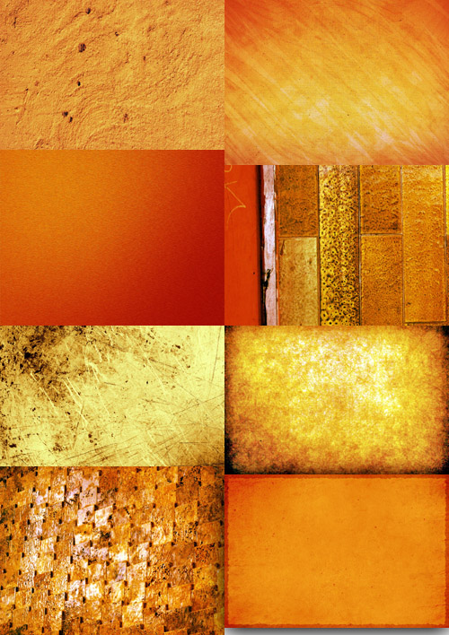 A set of gold textures # 2