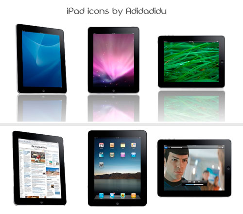 Различные IPad иконки / Different iPad icons