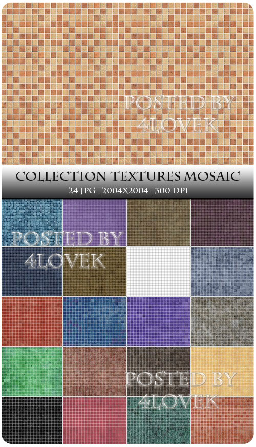 Collection Textures Mosaic