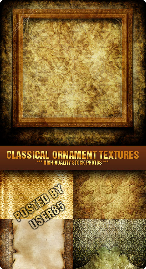 Stock Photo - Classical Ornament Textures