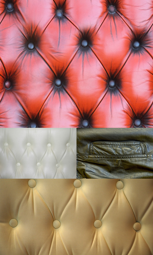 A set of textures leather