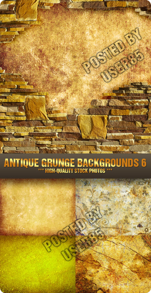 Stock Photo - Antique Grunge Backgrounds 6