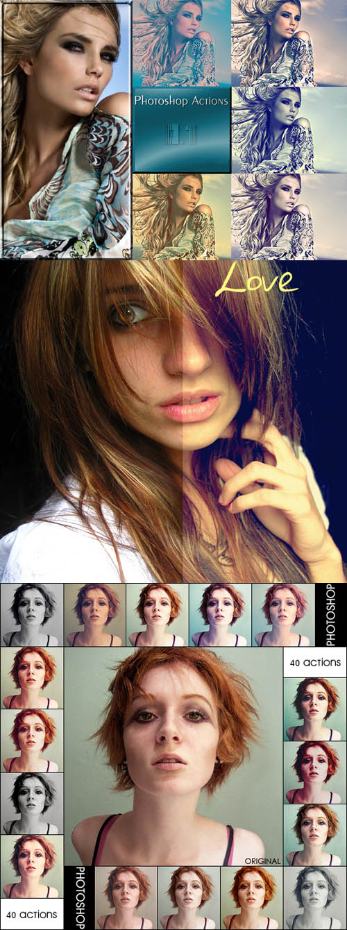 Photoshop Action pack 28