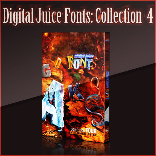 Digital Juice Fonts: Collection Four