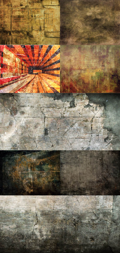 A set of grungy textures # 3