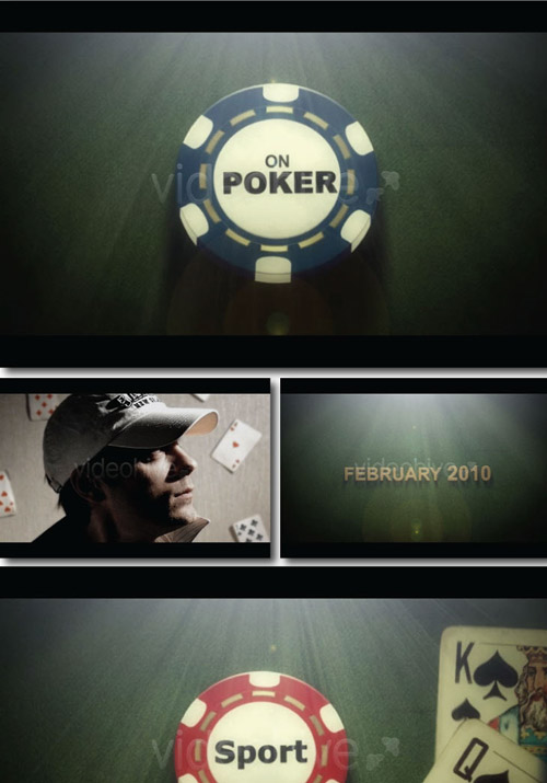 Videohive - POKER (Movie Trailer) 87329 - Project for After Effects