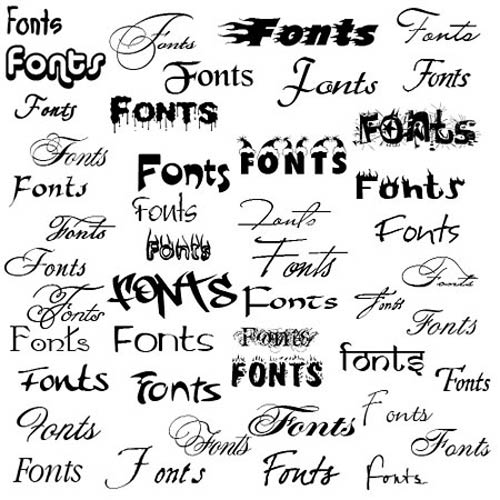 Over 1000 free fonts