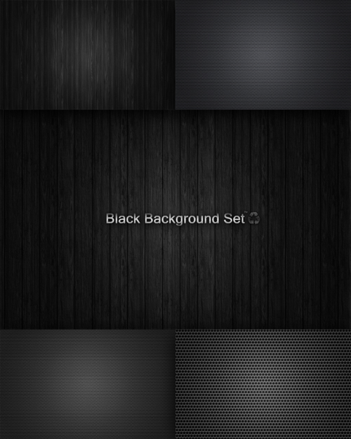 Textures - Black Background