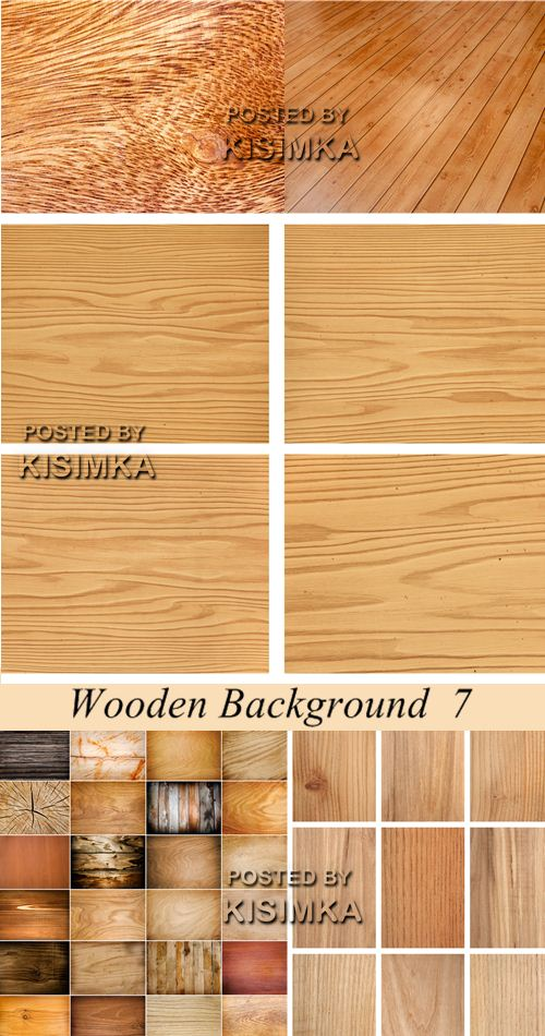 Stock Photo: Wooden Background 7