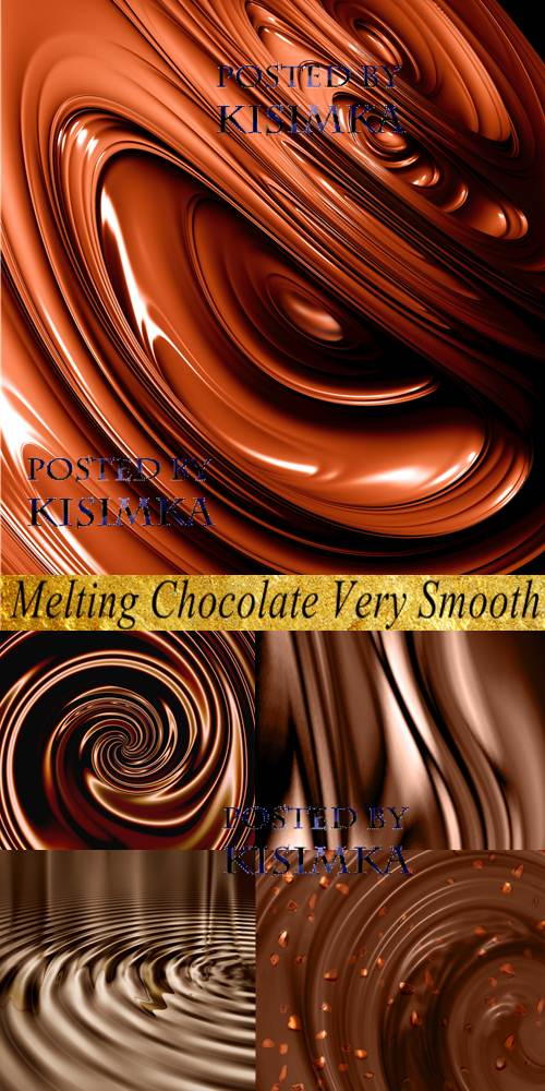 Stock Photo: Melting Chocolate Very Smooth