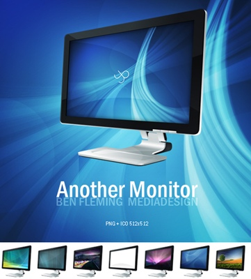 Cool Monitor Icons