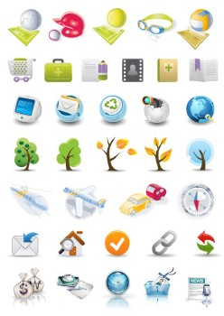 Vector Collection Pack 04 - icons (40sets/ai/eps/jpg)