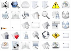Mac OSX and Similar Icons - Snow Pack