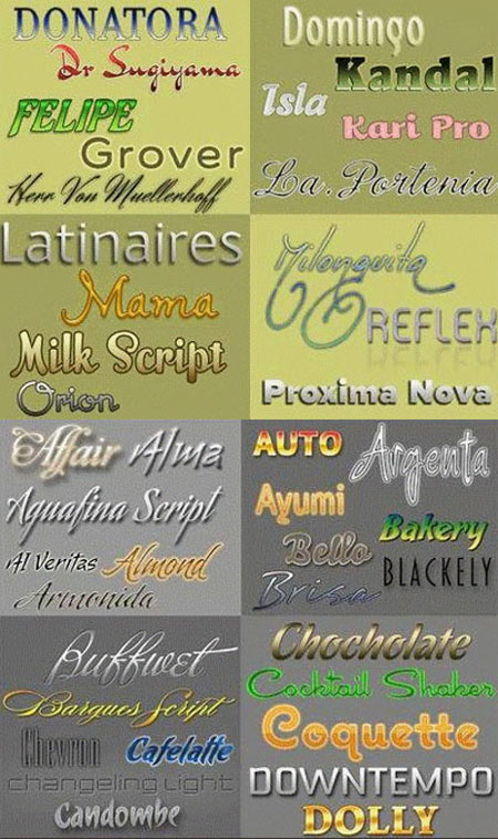 Fantastic Fonts Collection Pack