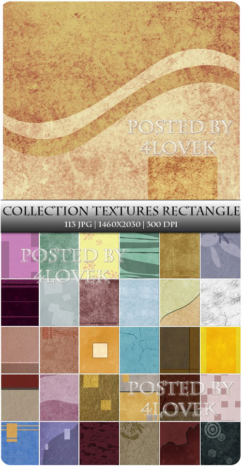 Collection Textures Rectangle