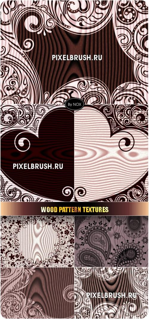 Wood Pattern Textures - ������, �����, ��������