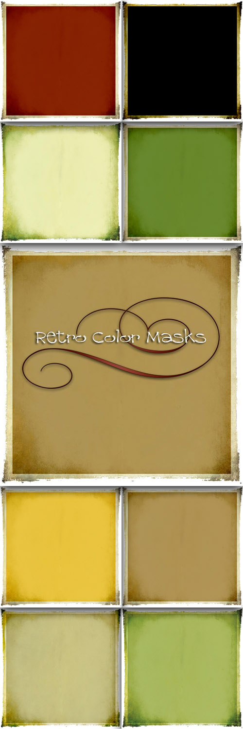 Retro Color Masks Set