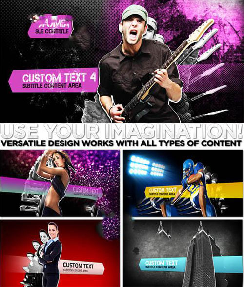 Videohive - Project Mayhem 496331 - Project for After Effects