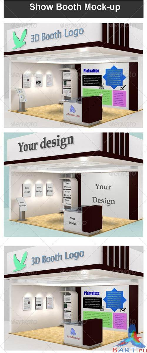 GraphicRiver Show Booth Mock-up