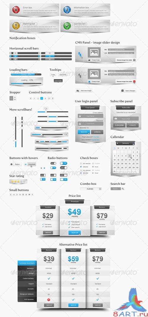 GraphicRiver Ultimate Web Package