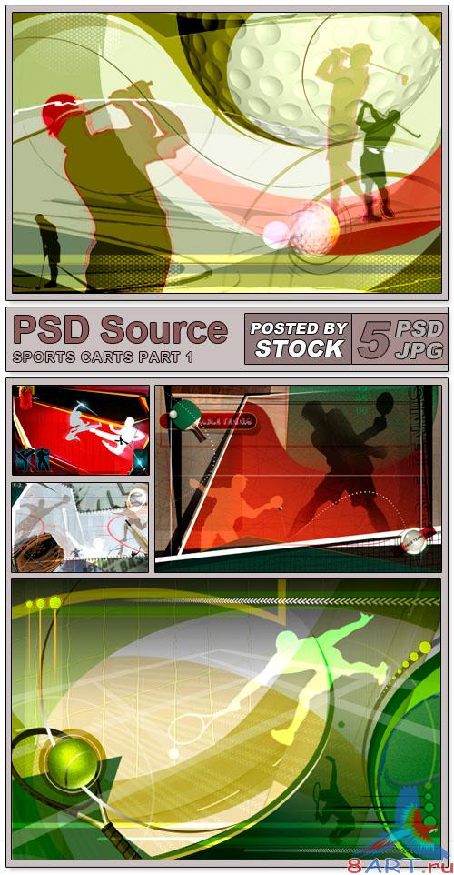 PSD Source - Sports carts (PART 1)