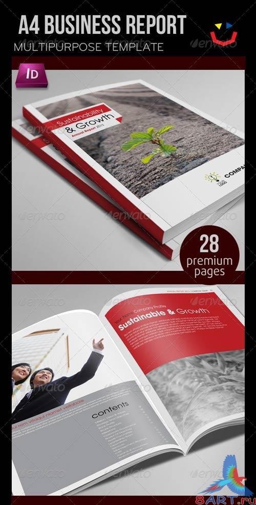 GraphicRiver Annual Report Design Template