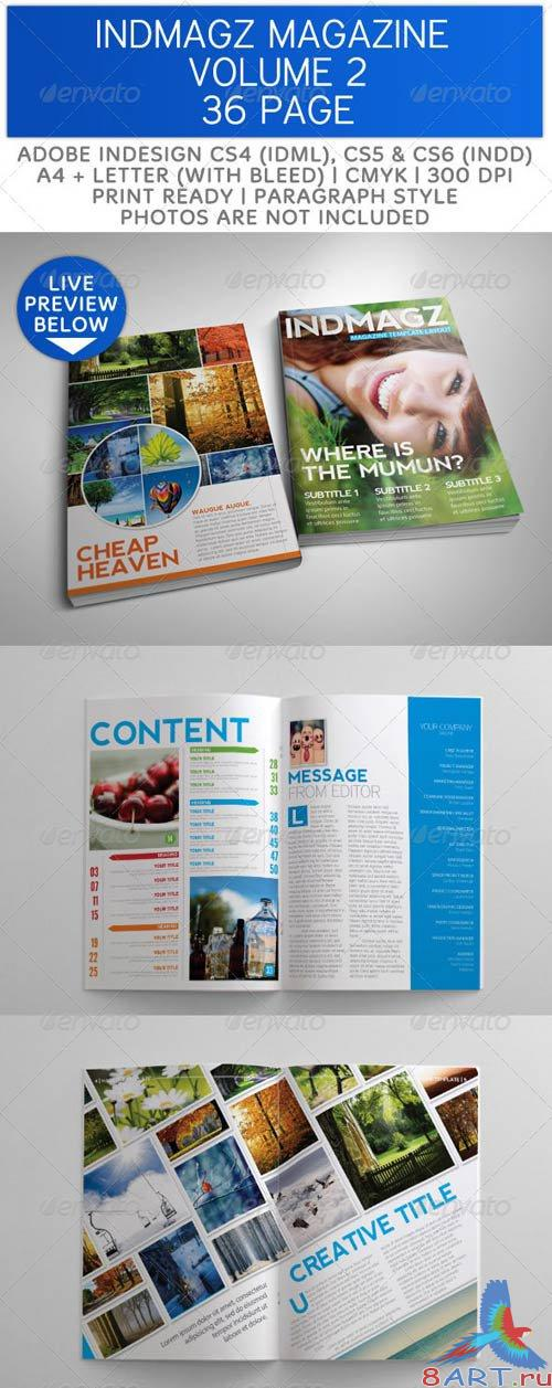 GraphicRiver 36 Pages Modern & Clean Magazine Templates Vol. 2