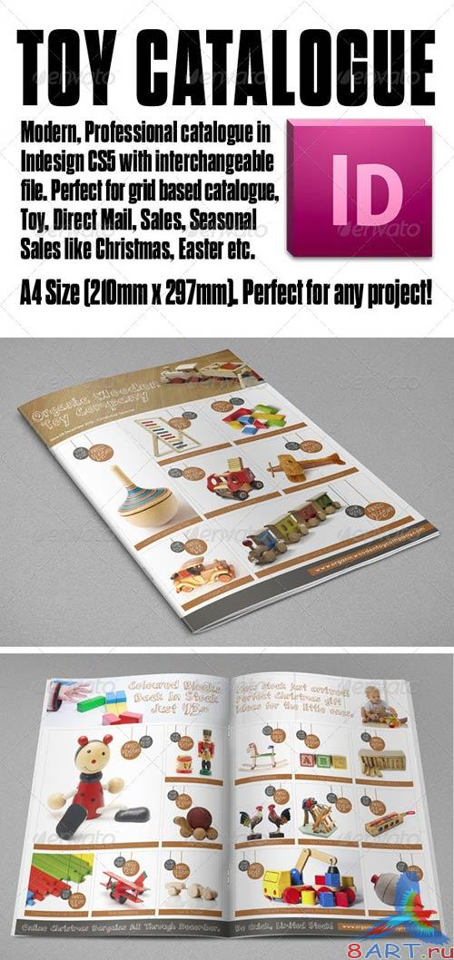 GraphicRiver Organic Product A4 Toy Catalogue 4 page