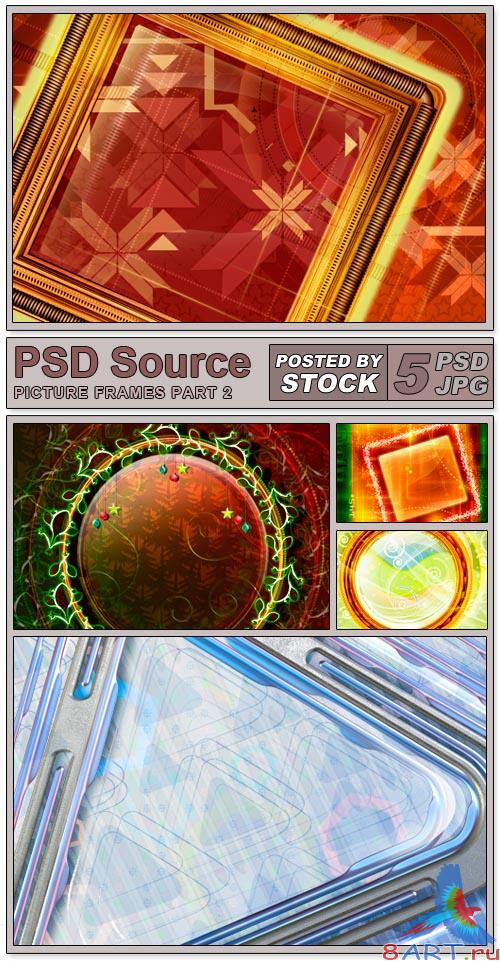 PSD Source - Picture Frames (PART 2)