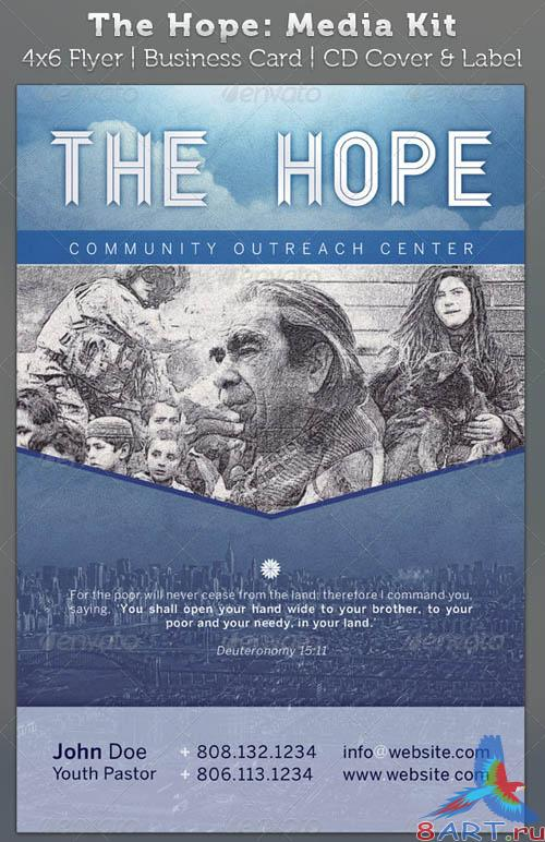 GraphicRiver The Hope Church Charity - Media Kit Package