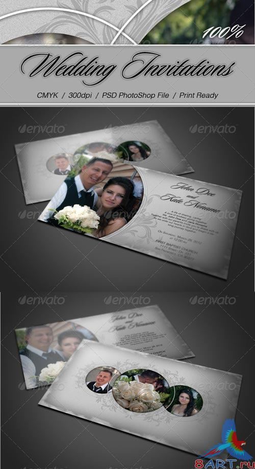 GraphicRiver Wedding Invitation Card
