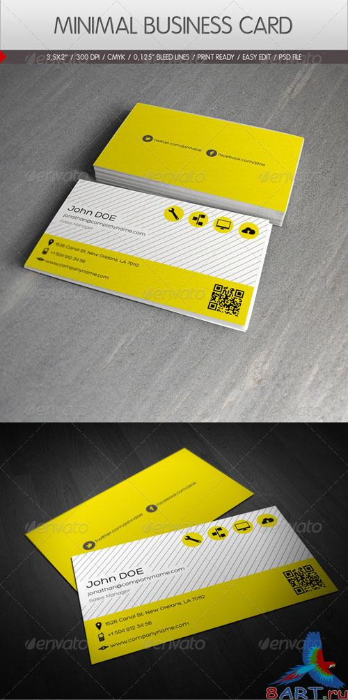 GraphicRiver - Minimal Business Card 2282809