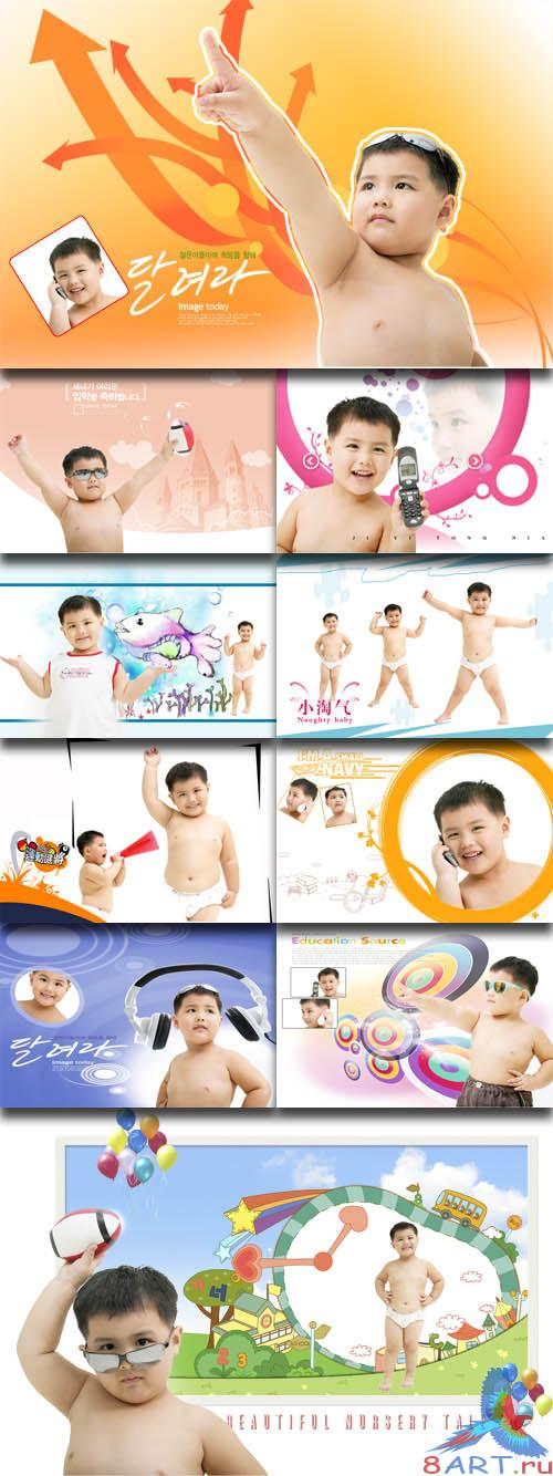 PhotoTemplates - Happy Childrens Vol.3 (77521)