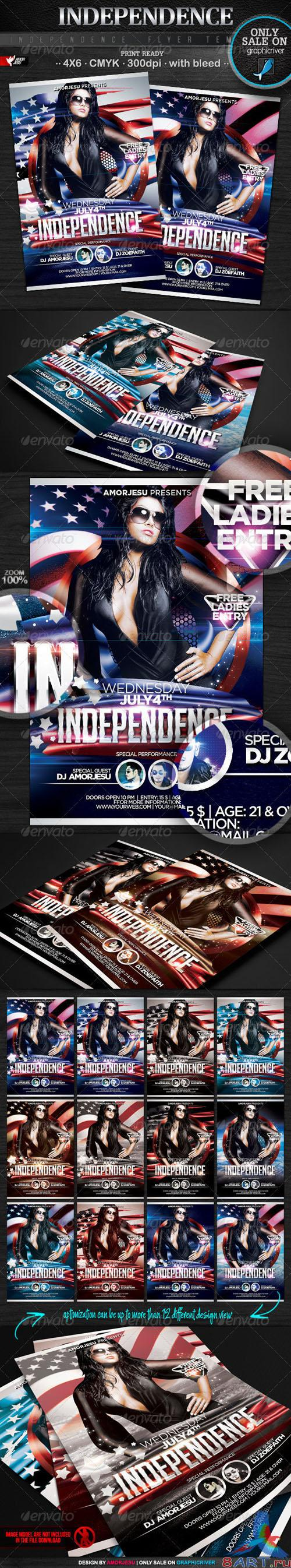 GraphicRiver - Independence Flyer Template 2524502