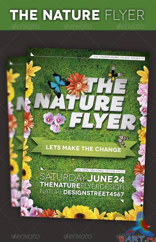 GraphicRiver The Nature Flyer