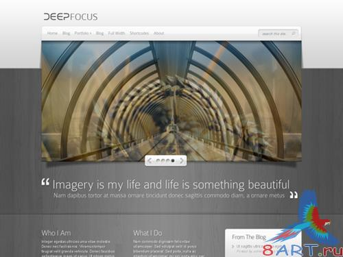 ElegantThemes DeepFocus Theme v2.6 April