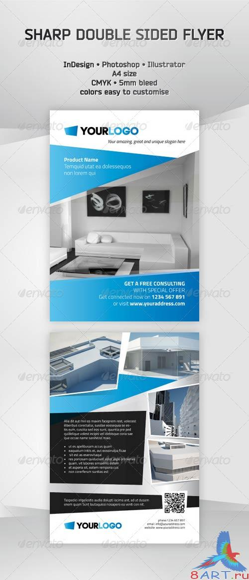 GraphicRiver Sharp Leaflet Template