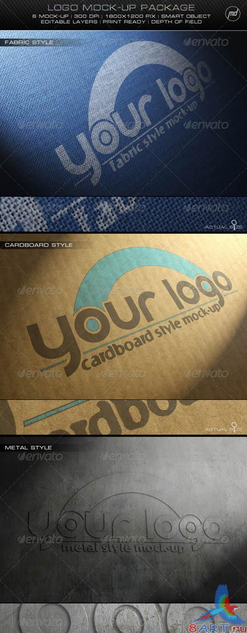 GraphicRiver Logo Mock-Up Package