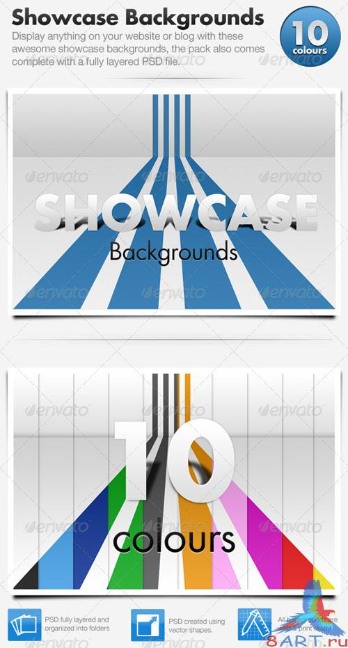 GraphicRiver 3D Showcase Line Backgrounds