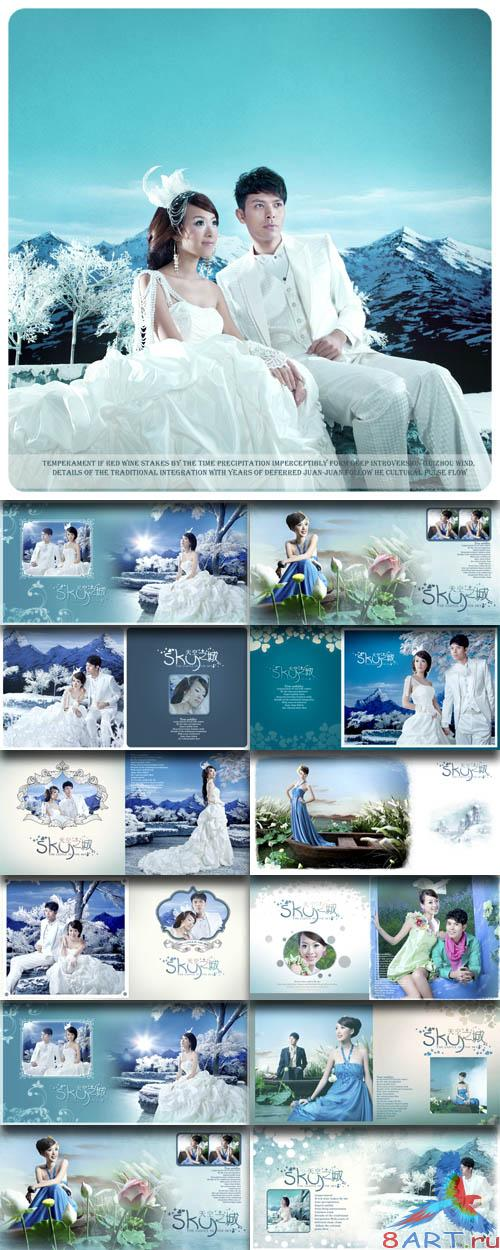 PhotoTemplates - Wedding Collection vol.18 (77537)