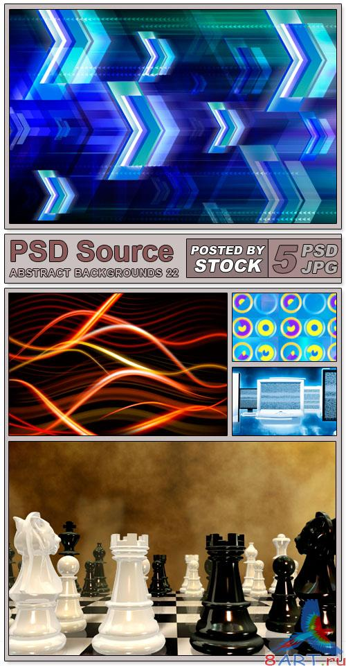 Layered PSD Files - Abstract backgrounds 22