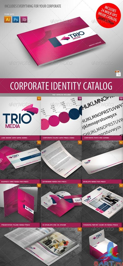 GraphicRiver Complete Business Corporate ID Catalog v3