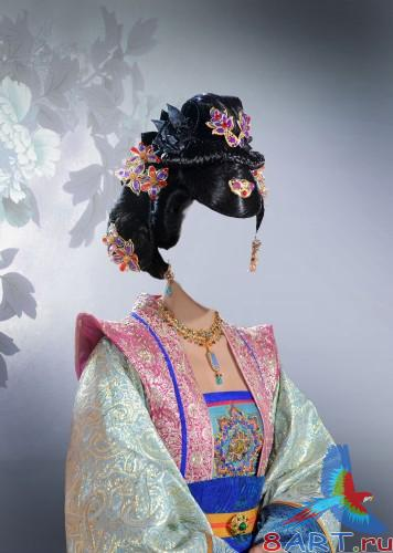 "Костюм ""Chinese princess"" на фотошоп"