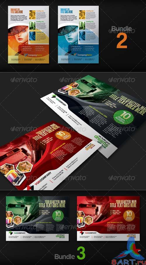 GraphicRiver Multipurpose Business Flyer Pack v.1