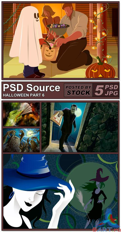 PSD Source - Halloween 6